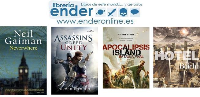 [Ender] Novedades en Stock de Libros y Cómics 20/12 - 2ª parte