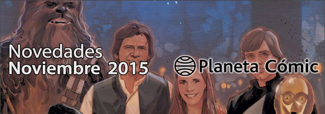 [Ender] Novedades de Planeta Cómic Noviembre 2015