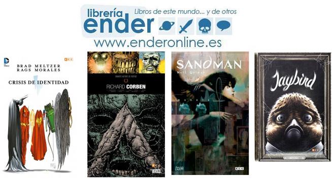 [Ender] Novedades de Cómics de ECC Ediciones Diciembre 2015