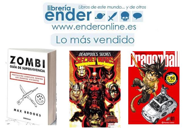 [Ender] Lo más vendido en Literatura en Mayo del 2016