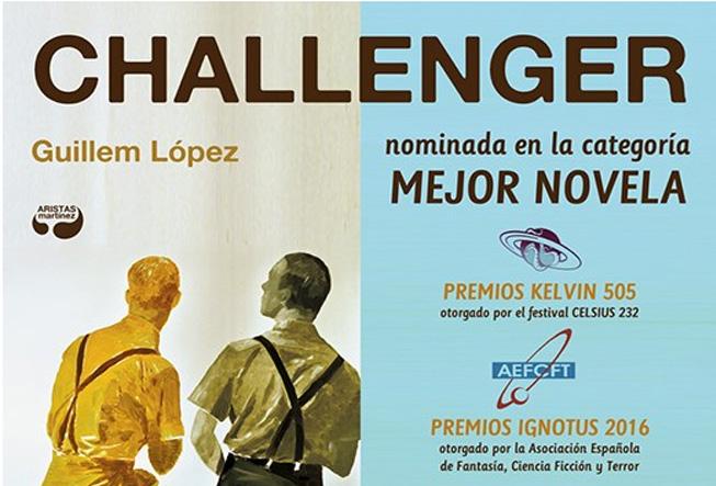 """[Ender] """"Challenger"""" Nominada """"Mejor novela"""" Premios Ignotus 2016"""