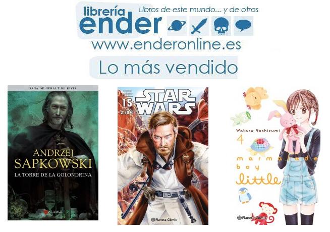 [Ender] Lo más vendido en Literatura en Junio del 2016