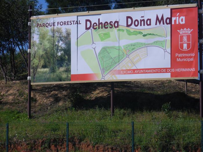 """Parque Forestal """"Dehesa Doña María"""" en Dos Hermanas"""