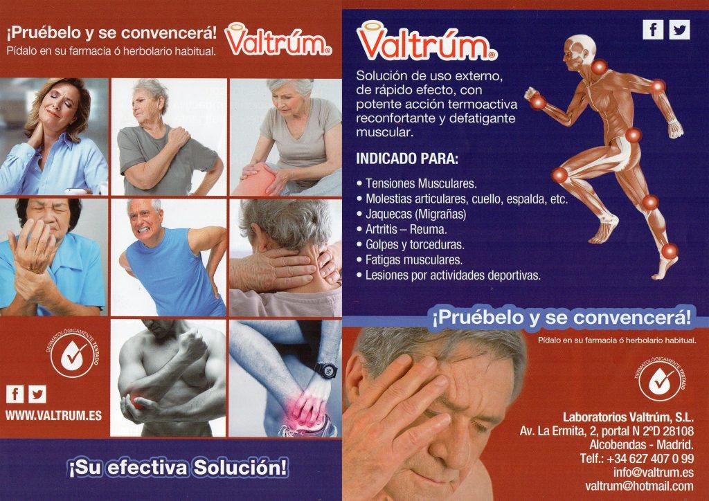 Fibromialgia y Valtrúm