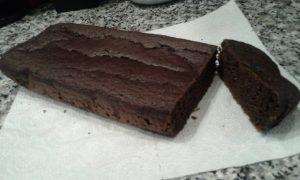 Bizcocho o pastel de chocolate a la taza