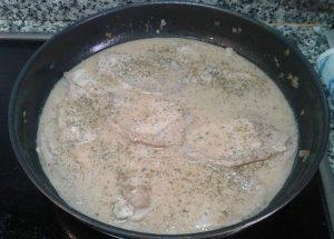 Lomo en salsa de Yogur y Miel