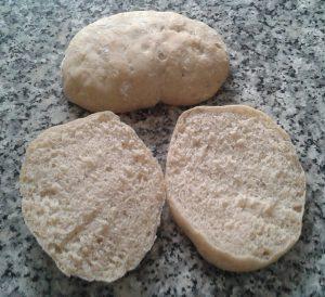 Pan de Molletes casero