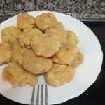 Potaje de Bacalao en tortitas