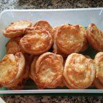 Rollitos de hojaldre con pavo y queso