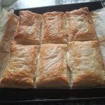 6 Napolitanas grandes de pavo y queso
