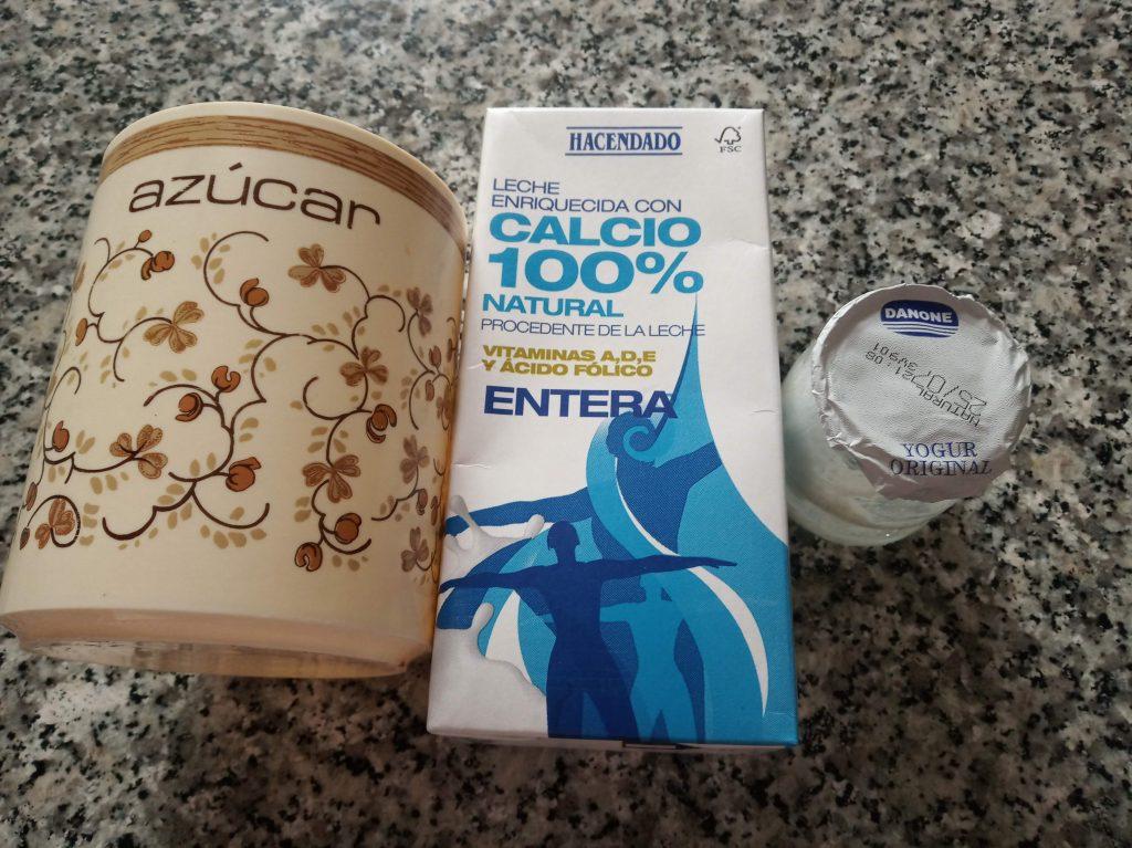 Yogur casero CON yogurtera de leche