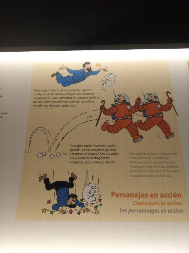 Caixa Forum Sevilla. Egipto y el Hombre y Tintín en la Luna