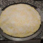Bizcocho de mantequilla y coco (con la 1/2 de ingredientes)