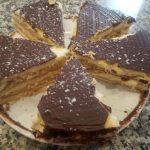 Cuñas exprés de crema pastelera y chocolate