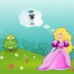 El príncipe azul se convirtió en rana