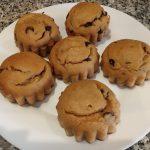 Donuts de avena y chocolate con o sin agujero